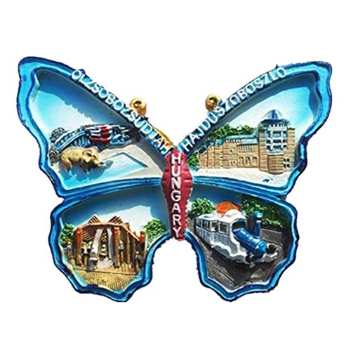 Refrigerator Magnets Resin 3D Funny Budapest Hungary City Tourist Souvenirs Fridge Stickers Magnetic Fridge Magnet for Whiteboard Home Kitchen Decoration Accessories Gifts