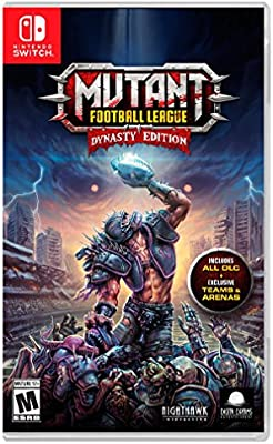 Mutant Football League: Dynasty Edition for Nintendo Switch USA ...