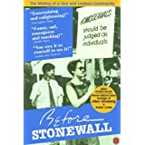 Before Stonewall Cover