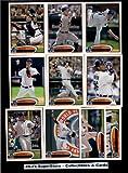 2012 Topps Detroit Tigers Complete Team Set (Sealed) - (Series 1 & 2) - 22 Cards including Porcello, Boesch, Fister, Cabrera, Avila, Prince Fielder, Turner, Valverde, Jackson, Verlander & more!