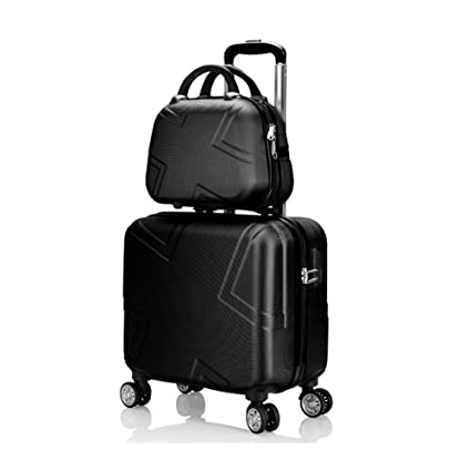 7e98aa8f3 Qzny Suitcase, Unisex Cosmetic Case Boarding The Chassis Fashion Universal  Wheel Travel Trolley Case Ladies