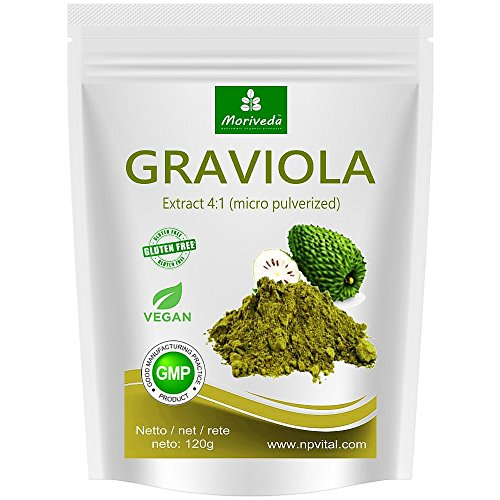 Graviola powder 120g extract 4:1 highly concentrated fruit powder, quality...