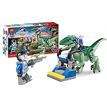 Mini Figures Jurassic World Dinosaur Owen Toys Jurassic Park Bricks CZP by Unknown