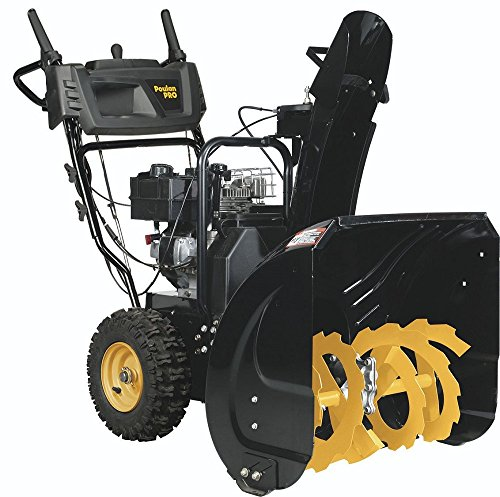 Poulan PRO PR241 – 24-Inch 208cc Two Stage Electric Start Snowthrower -961920092