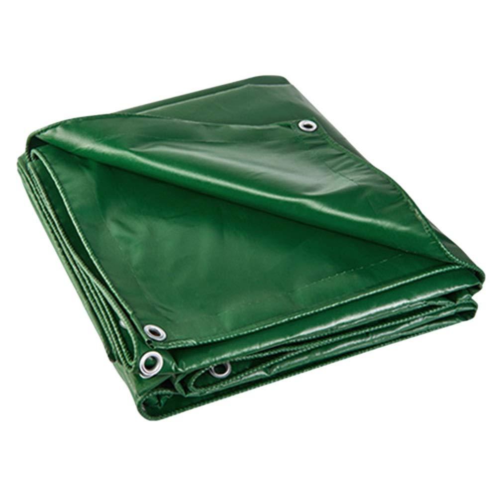 6M×4M  GZW001 BÂche Verte imperméable et résistante de PVC de bÂche avec la rondelle, Couverture de Piscine de Toit de Camping de Camion de Yard