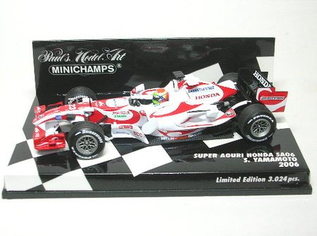 PMA 1/43 Super Aguri Honda SA06 # 23 (japan import)