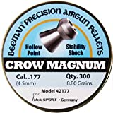 Beeman Crow Magnum Hollow Point Airgun Pellets .177 Caliber / 8.80 Grains (300 Count)