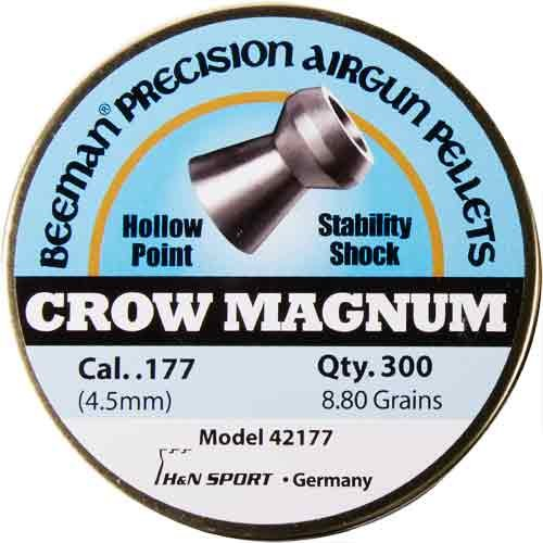 (Beeman Crow Magnum .177 Cal, 8.80 Grains, Hollowpoint (300 Count))