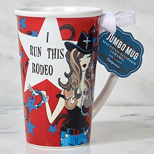 Certified International Jumbo Mugs - Everyday I Run This Rodeo 22 oz