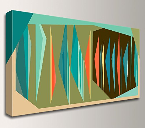 "Mid Century Wall Art Decor – ""Multiplex Panorama"" 51mGkM2DMwL"