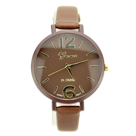 Reloj Chocolate Geneva Clásica Mujer My-Montre