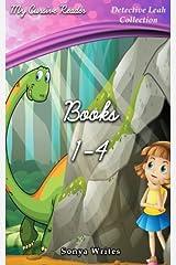 My Cursive Reader: Detective Leah Books 1-4 Paperback