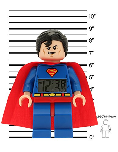 lego superman alarm clock instructions