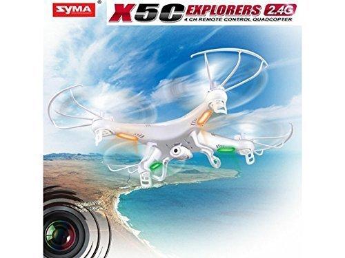 Syma X5C Exlorers 2.4G – Dron Quadcopter de 6 ejes con control remoto y cámara HD
