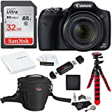 Canon PowerShot SX530 HS + SDHC 32GB + Tripod + Ritz Gear Bag + Battery + Ritz Gear Card Reader + Cleaning Kit + Screen Protector + Polaroid Memory Card Wallet