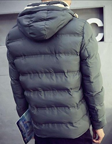 Gery Long Coat Down Gocgt Men Winter Hoodies Sleeve Thick Puffer 7U7wEzx8Zq