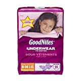 Health & Personal Care : GoodNites Underwear, Girls, Large/Extra-Large, 21 Count