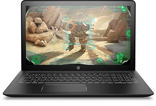 HP Pavilion Power 15-cb018ng (15,6 Zoll / Full HD IPS) Gaming Notebook (Intel Core i7-7700HQ, 1TB HDD, 128GB SSD, 16GB RAM, NVIDIA GeForce GTX 1050 4GB GDDR5, Windows 10 Home) schwarz