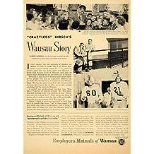 1955 Ad Employers Mutual Insurance Wausau Mary Fogarty - Original Print Ad