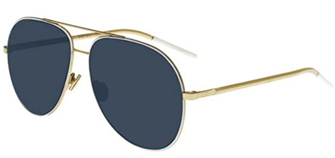 9013f7a2a88 Image Unavailable. Image not available for. Colour  New Christian Dior  Astral B4E KU White Gold Blue Sunglasses