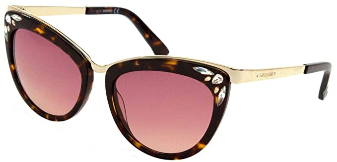 Gafas de sol Swarovski SK0102 C56 52F (dark havana ...
