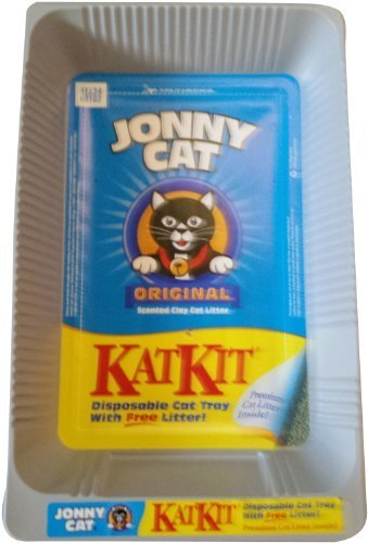 Jonny Cat KatKit Disposable Cat Tray with Free Litter by JONNY CAT