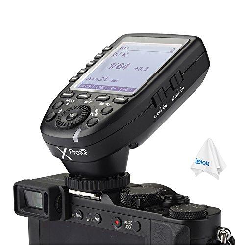 - Godox XPro-O TTL 2.4G HSS 1/8000s Wireless Flash Trigger for Olympus Panasonic Cameras