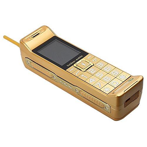 (Higoo® 2016 NEW Classic Vintage Retro Quad Band Brick Phone Dual SIM Long Standby Time)