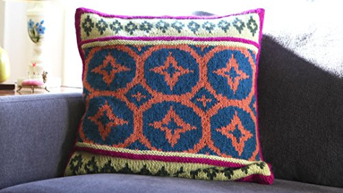 Fair Isle Garden - Steeked Fair Isle Pillow