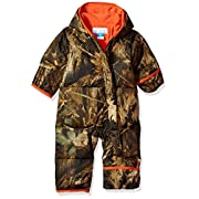 Columbia Baby Boys' Snuggly Bunny Bunting, Timberwolf, 6-12 Months