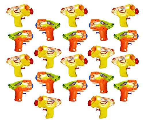 20-pieces-squirt-water-guns-assortment-high-powered-trigger-action-high-perfomance-blasting-nozzle
