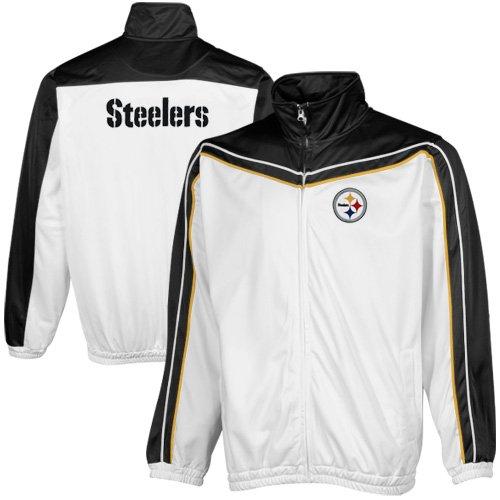 Pittsburgh Steelers nfl Prime Time Full Zipトラックジャケットby g-iii
