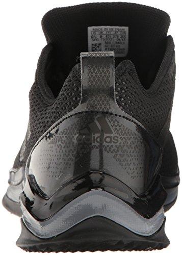 Adidas Mens Speed Trainer 3 Wide Nero / Nero / Ferro Metallizzato