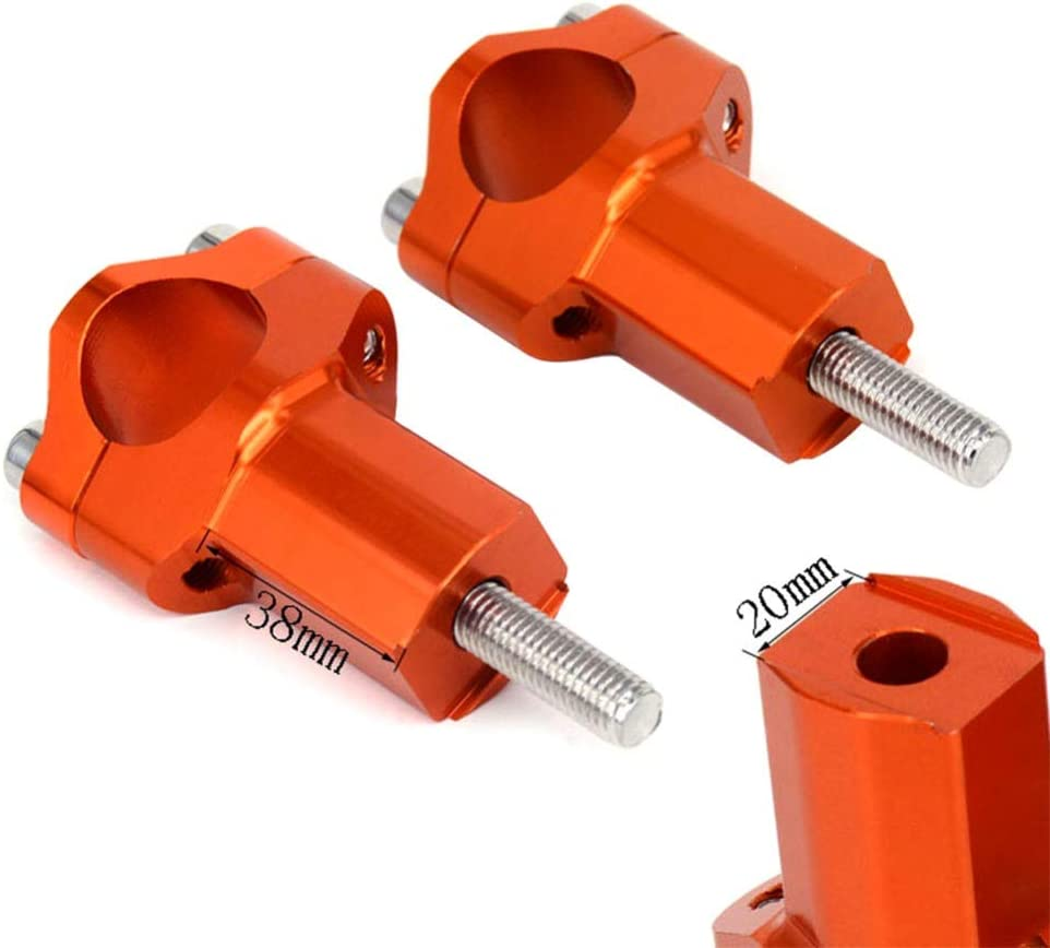 52mm Handlebar Clamp Risers Bar Mount Clamp For KTM EXC XCW 200 250 300 350 400 450 500 SX 85 2016 2017 2018 SXF EXCF XC#295184