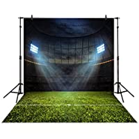 Allenjoy 5x7ft Photography Backdrop Night football stadium spotlight newborn children background props photocall photobooth photo studio