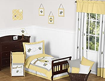 Amazoncom Yellow Gray and White Honey Bumble Bee Hive Kids 5