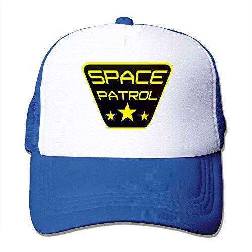 Texhood Space Patrol Fashion Trucker Hat One Size RoyalBlue