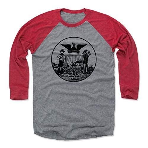 San Diego Baseball Tee Shirt - XX-Large Red/Heather Gray - San Francisco California ()