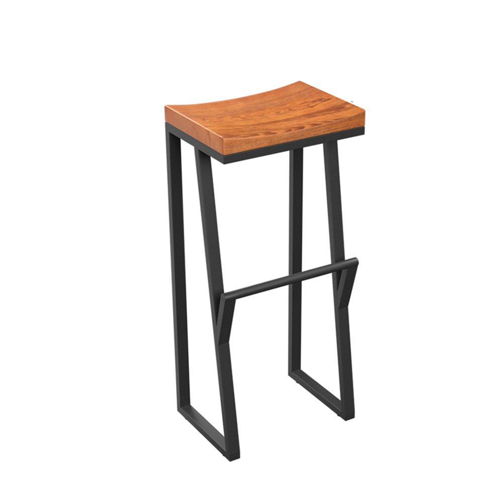 カシオモール近代家具椅子は丈夫で信頼性があります。 彼らはとても快適で強くあります。 バースツールレトロインダストリアルスタイルアイロン+ウッドカフェチェア朝食スツール ( サイズ さいず : 85CM ) B07B3ZXY5P85CM