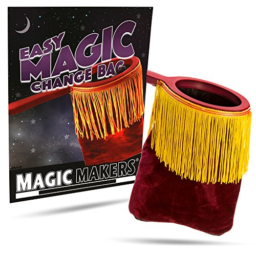 Price comparison product image Magic Makers The Magic Change Bag - Red Edition - Classic Vanishing Effect