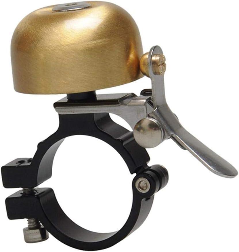 Juego de timbre clásico de cobre para bicicleta, exquisito timbre de bicicleta de montaña para bicicleta de carretera con junta de llave hexagonal, campana de advertencia de seguridad, timbre: Amazon.es: Hogar
