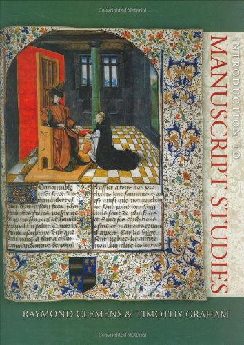Introduction to Manuscript Studies