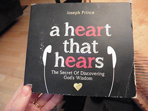 Joseph Prince A Heart That Hears The Secret of Discovering God's Wisdom 3 CD Set