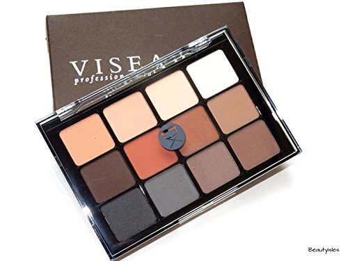 Viseart Eyeshadow Palette - Neutral Matte 01 by Viseart (Image #2)
