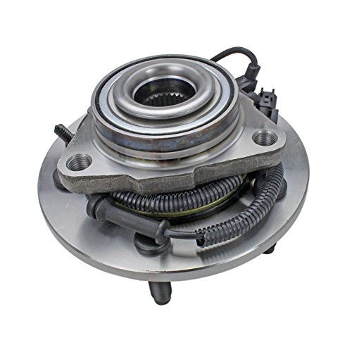 CRS NT515113 New Wheel Bearing Hub Assembly, Front Left (Driver)/ Right (Passenger), for 2006-2008 DODGE RAM 1500, w/4 Wheel ABS (Exc. Mega Cab), 4WD/ RWD