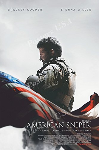 Posters Usa   American Sniper Movie Poster Glossy Finish   Mov527  24  X 36   61Cm X 91 5Cm