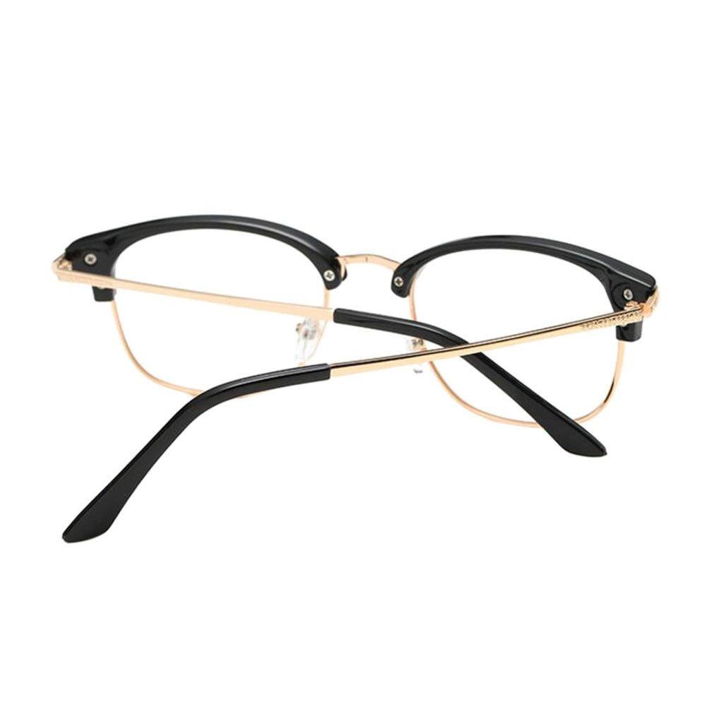 6.0 1.0 to These are not reading glasses Zhuhaixmy Near Sighted Half Rim Anti-Radiation Short Distance Glasses Myopia Eyeglass