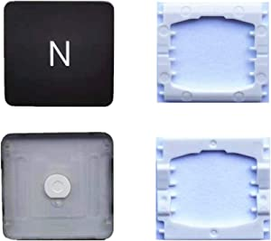 Replacement Individual N Key Cap and Hinges are Applicable for MacBook Pro A1706 A1707 A1708 Keyboard to Replace The N Key Cap and Hinge