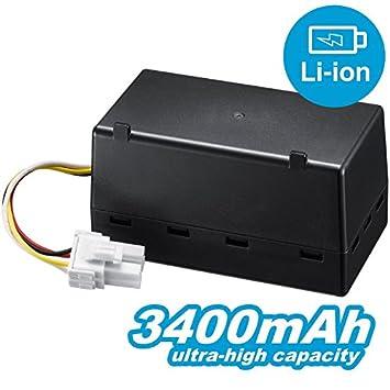 compatible Samsung Navibot S/max/Corner Clean Serie batería de ion de litio 3400 mAh/14.4 V: Amazon.es: Hogar
