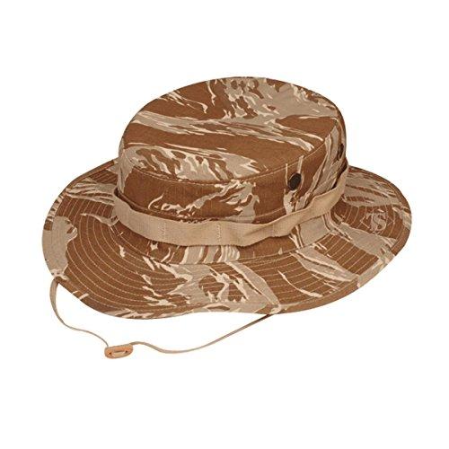 - Tru-Spec Boonie, Original Desert Tiger Stripe, Size 7.75